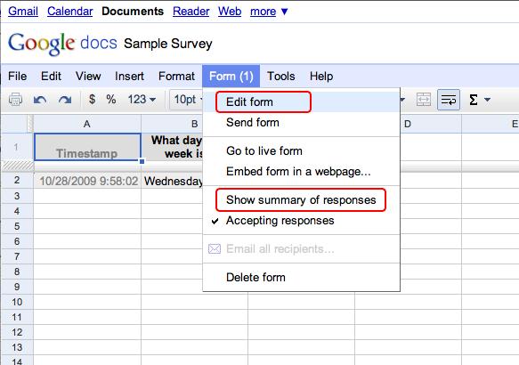 pdf of responses google form