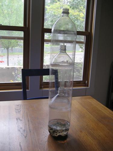 2 liter bottle - 5 6