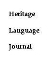 Heritage Language Journal
